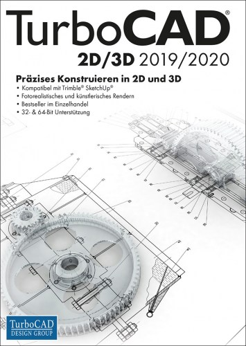 TurboCAD 2D/3D 2019/2020 Vollversion