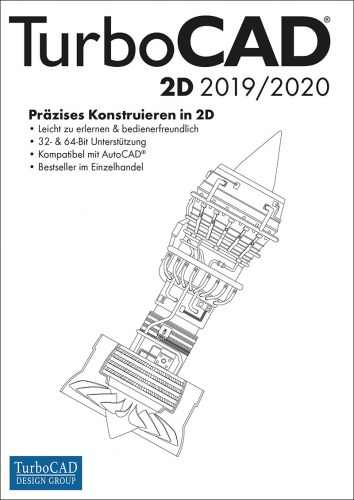 TurboCAD 2D 2019/2020 Vollversion