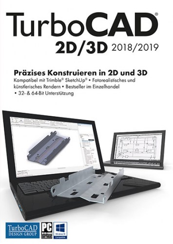 TurboCAD 2D/3D 2018 Vollversion